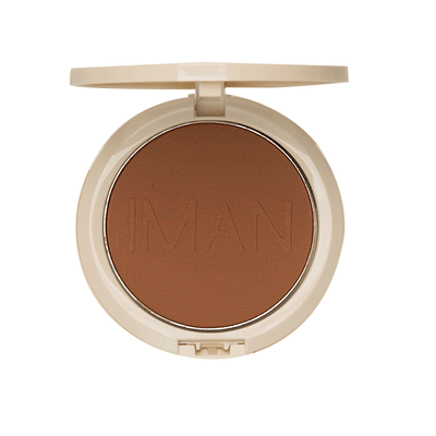 IMAN Cosmetics Poudre Compacte Sébo-Absorbante Medium Deep