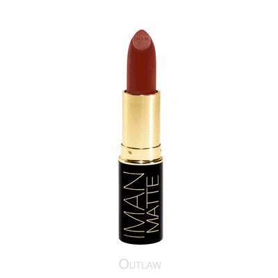 Outlaw - Rouge à Lèvres Mat IMAN Cosmetics - Marron clair - olive à mate