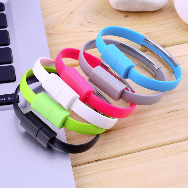 Micro USB Data Cable Bracelet