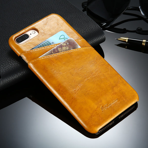 Business Style Luxury Leather Case For iPhone