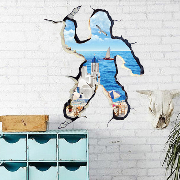 3D Self Adhesive Creative Wall Stickers Shop Colossal Deals