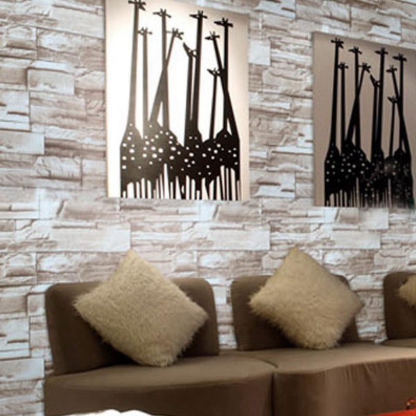 3D Self Adhesive Brick Tiles Wall Stickers Shop Colossal Deals
