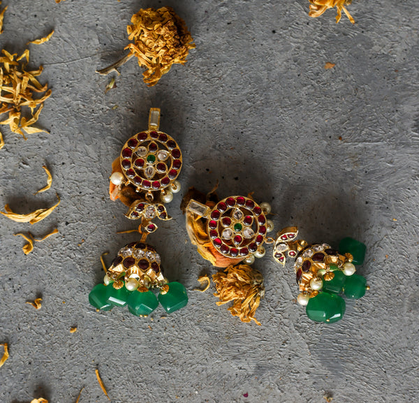 Atosi Earrings - Aaharya