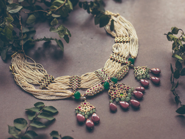 Abharika Necklace 1 | Temple Jewellery