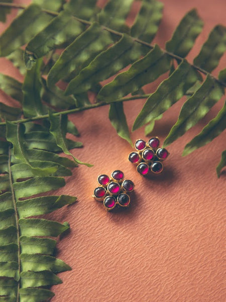 Attigai Studs | Temple Jewellery
