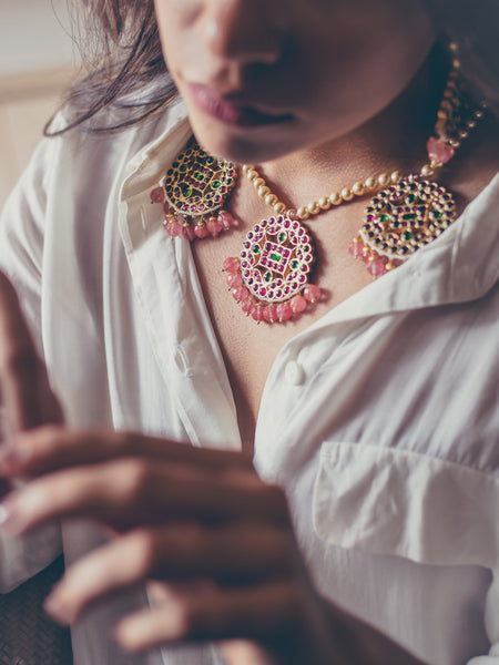 Adah Necklace | Temple Jewellery