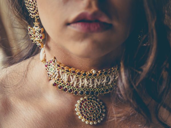 Ahilya Choker | Temple Jewellery