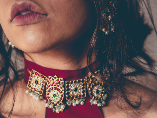 Avrohi Choker | Temple Jewellery