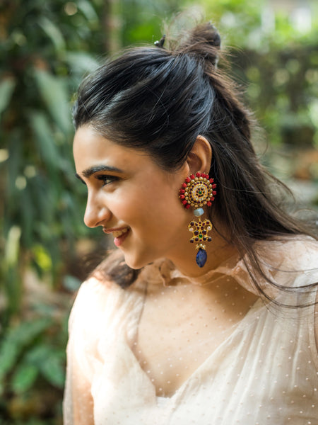 Nilaruna Earrings - Aaharya