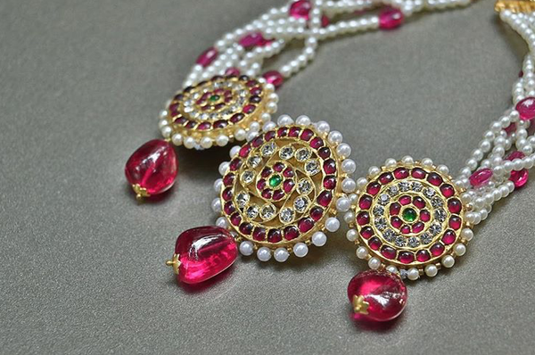 Ruby Temple Jewellery Necklace