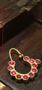 Crescent Nose Ring - Aaharya