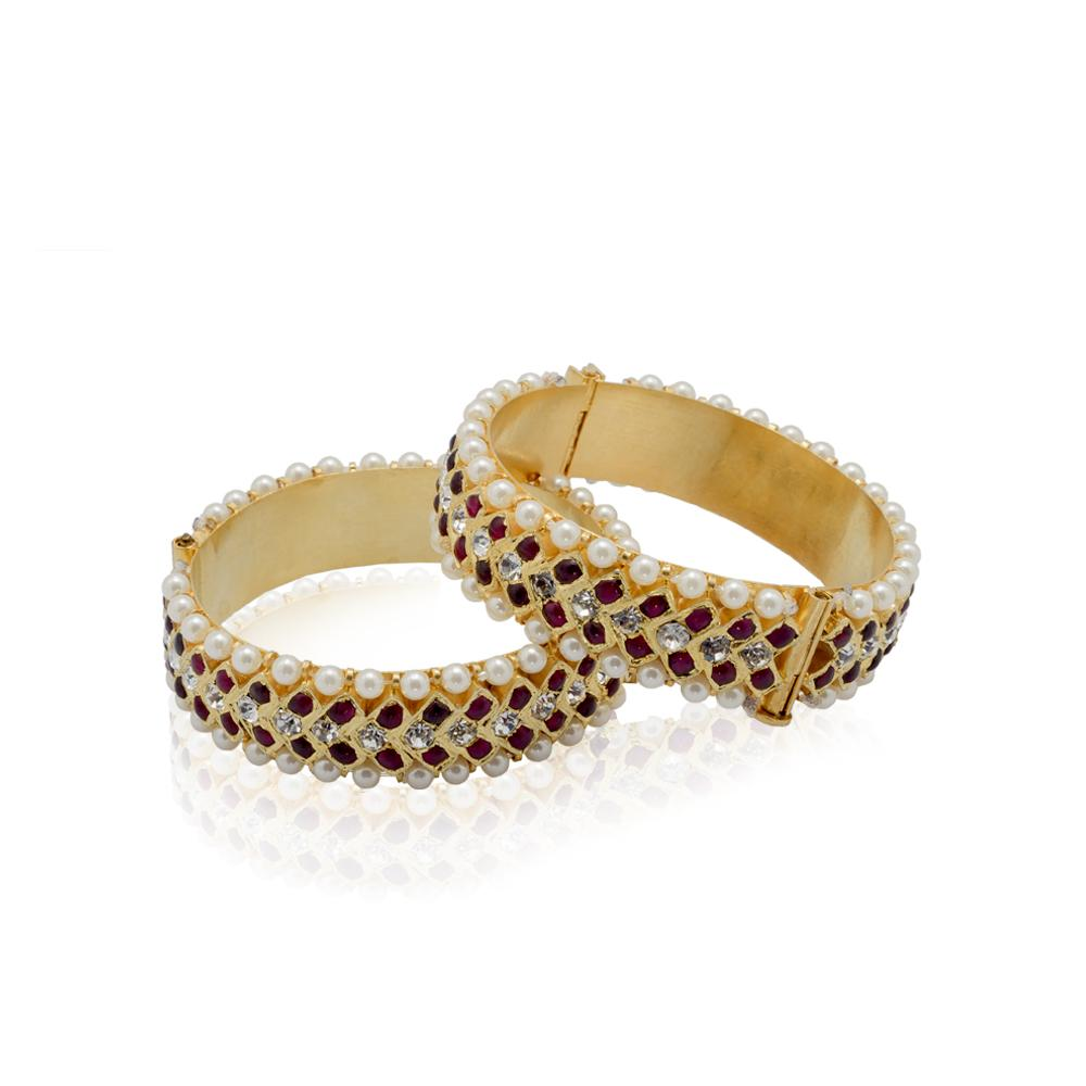 Circinate Bangle Temple Jewellery