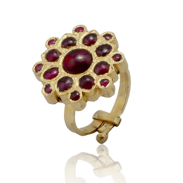 Botanic Temple Ring | Temple Jewellery