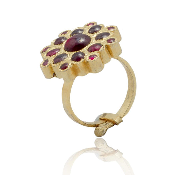 Botanic Temple Ring 1 | Temple Jewellery
