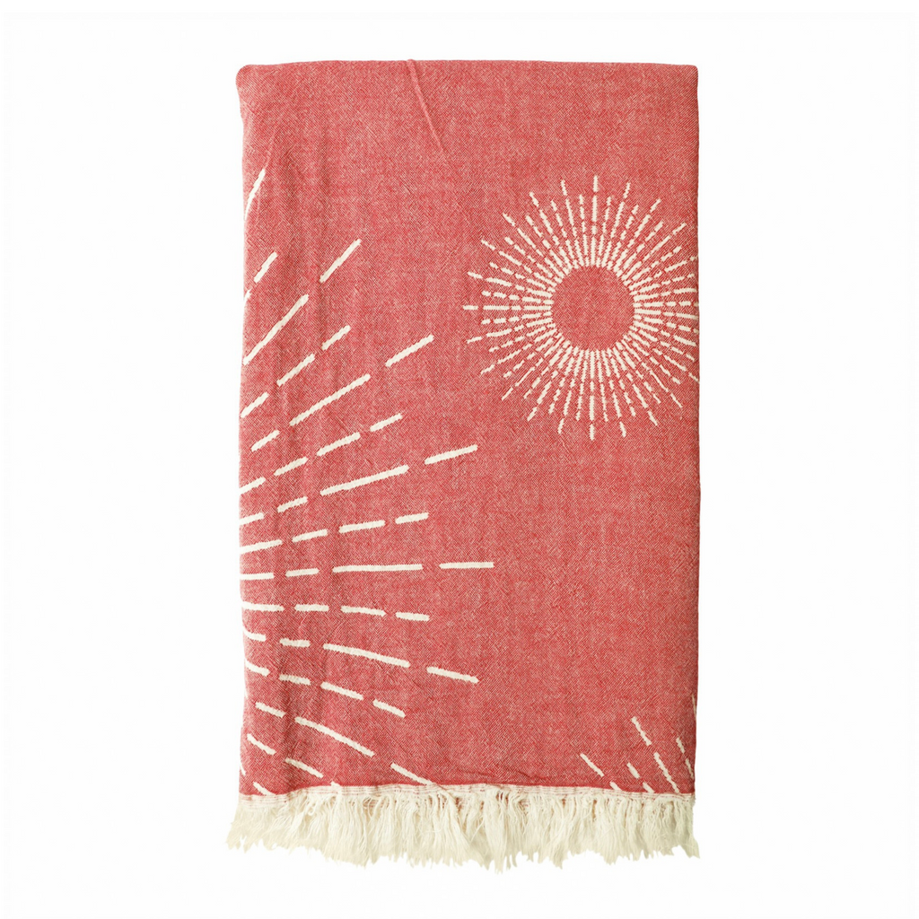 Sunburst Hammam Towel - Warm Clay from Sand and Salt