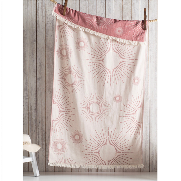 Sunburst Hammam Towel - Warm Clay