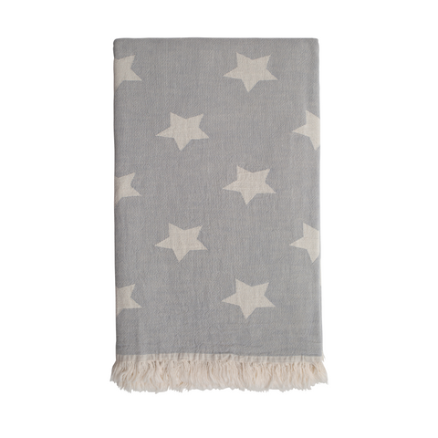 Star Hammam Towel - Washed Grey