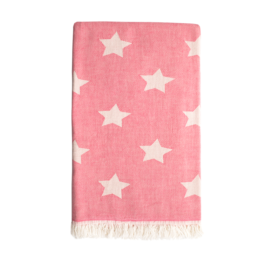 Star Hammam Towel - Washed Pink