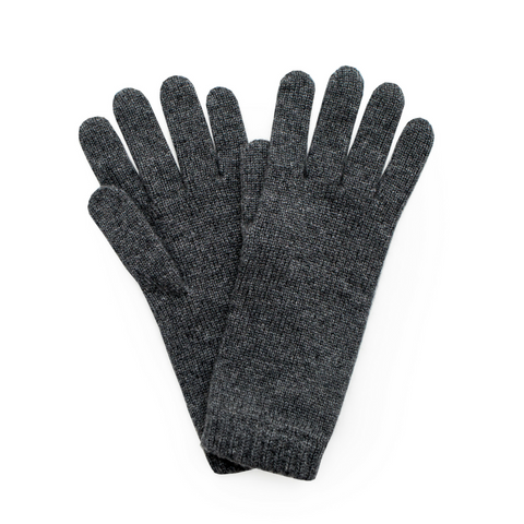 Cashmere Ladies Gloves - Charcoal