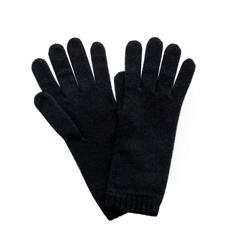 Cashmere Ladies Gloves - Black