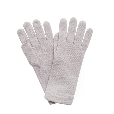 Cashmere Ladies Gloves - Snow