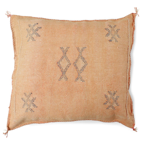 Cactus Silk Cushion Cover - Apricot