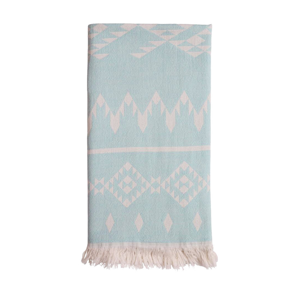 Belize Hammam Towel - Washed Aqua
