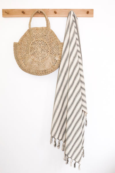 Reef Fringed Hammam Towel