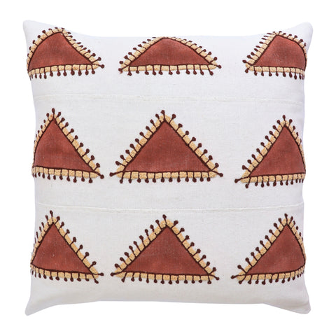 Mountain Textured Cotton Cushion Cover