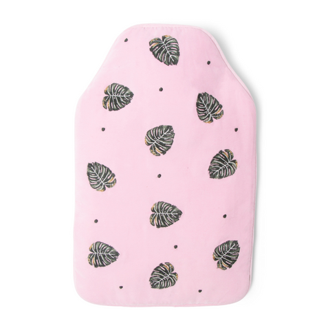 Elizabeth Scarlett Jungle Leaf Hot Water Bottle - Roseshadow