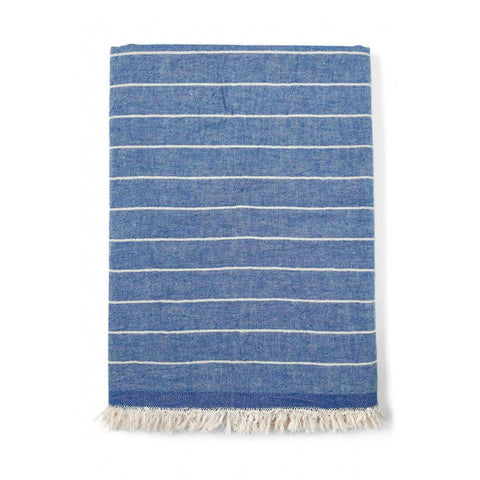 Surf Stripe Hammam Towel - Blue