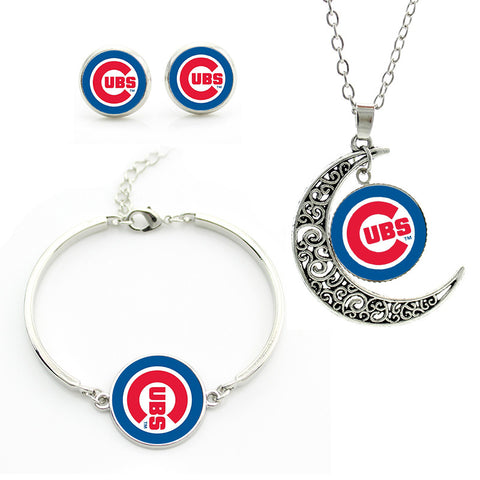 Chicago Cubs Jewelry Set