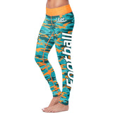 Miami Football Camo Leggings