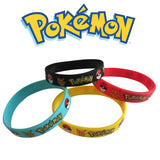 7 Count Pokemon Go Silicon Bracelet Team Instinct Valor & Mystic