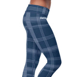 Dallas Football Plaid Leggings