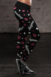 Arizona Lovin Kisses Football Leggings