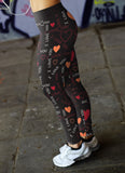 I Love You Heart Leggings