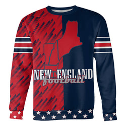 Stars and Stripes NE Football Sweatshirt