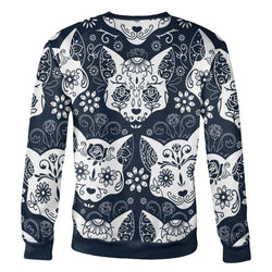 Sugar Skull Cats Sweatshirt