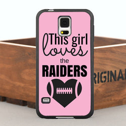 This Girl Loves The Raiders Case