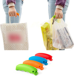 Silicone Shopping Bag Basket Carrier Grocery Holder Handle Comfortable Grip