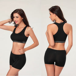 Summer Style Women Cotton Stretch Athletic Sports Bra