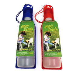 Pet Drinker Squeezable Foldable Bottle For Travel 2 Count Water Dispenser
