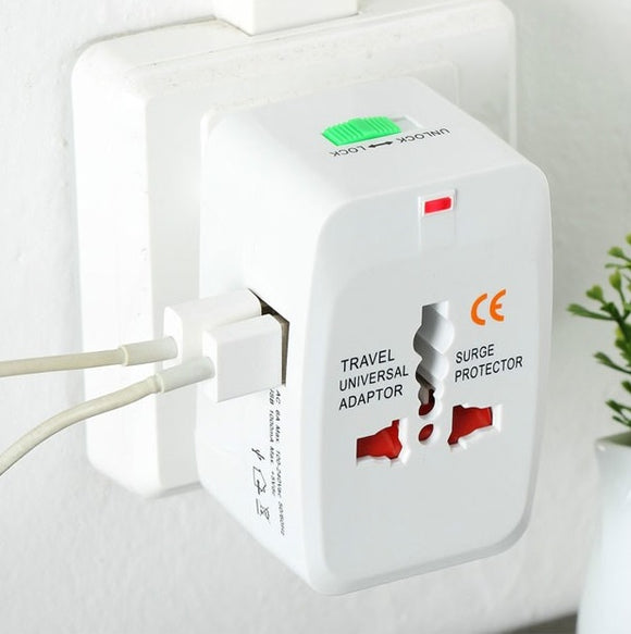 Universal Travel Adapter 2 in 1
