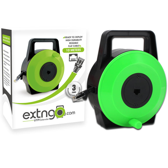 EXTNGO 33Ft Retractable Network Cable Extender