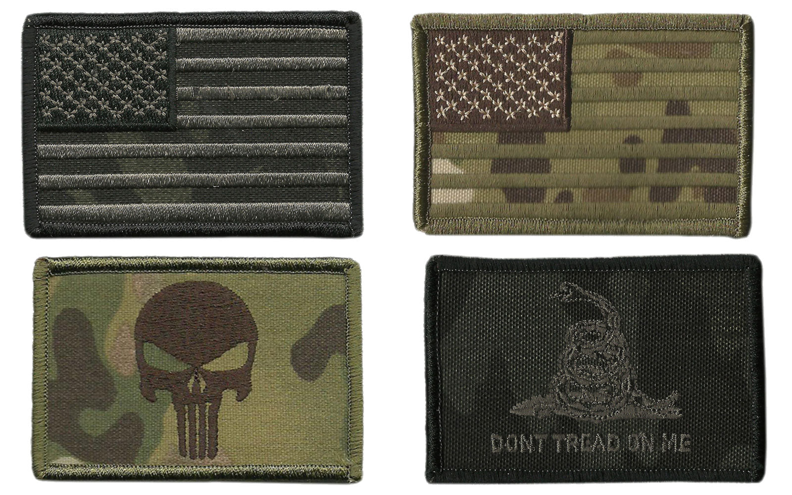 Camouflage Tactical Patches
