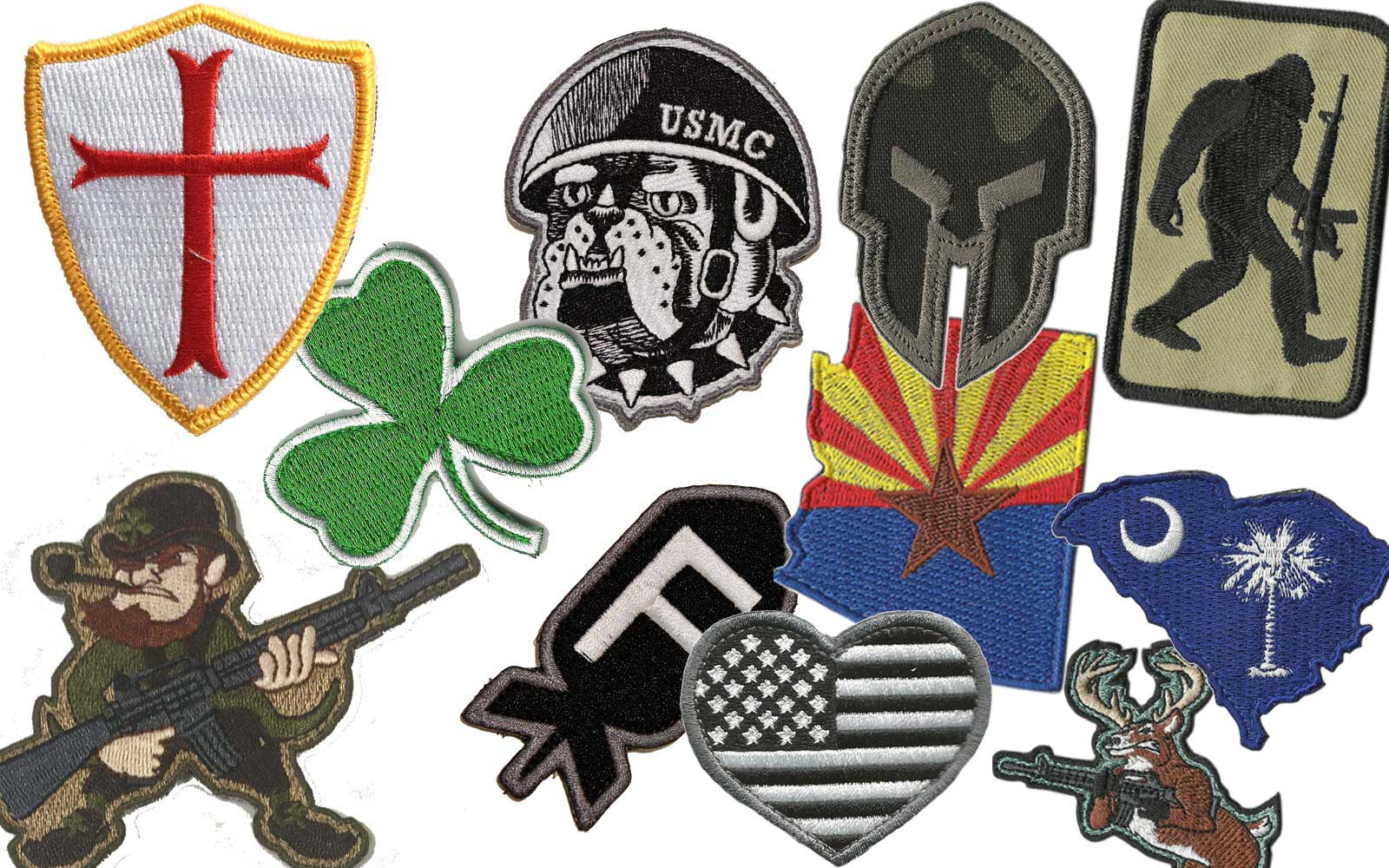 Die-Cut Tactical Patches