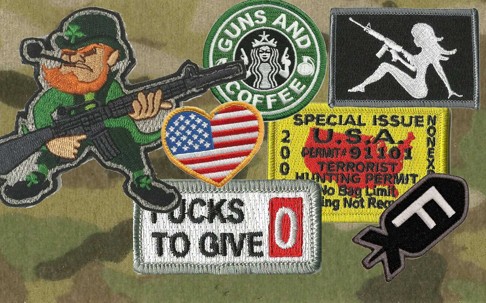 Fun & Funner Tactical Patches