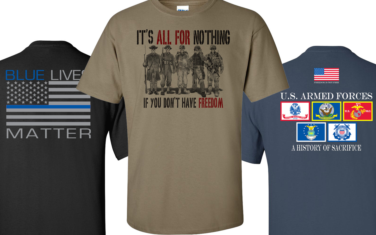 Military Police / First Responder Shirts
