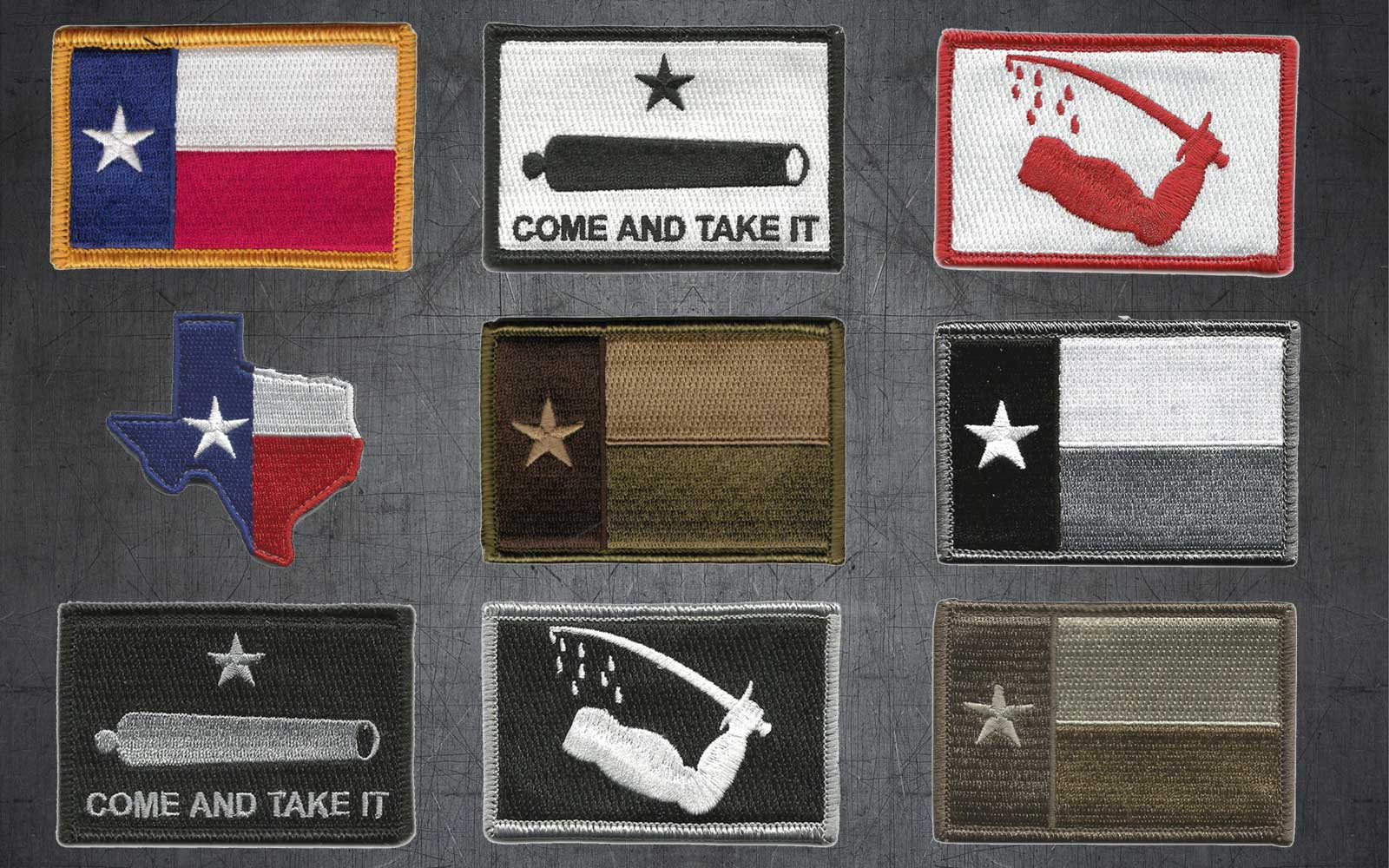 Texas Tactical Patches